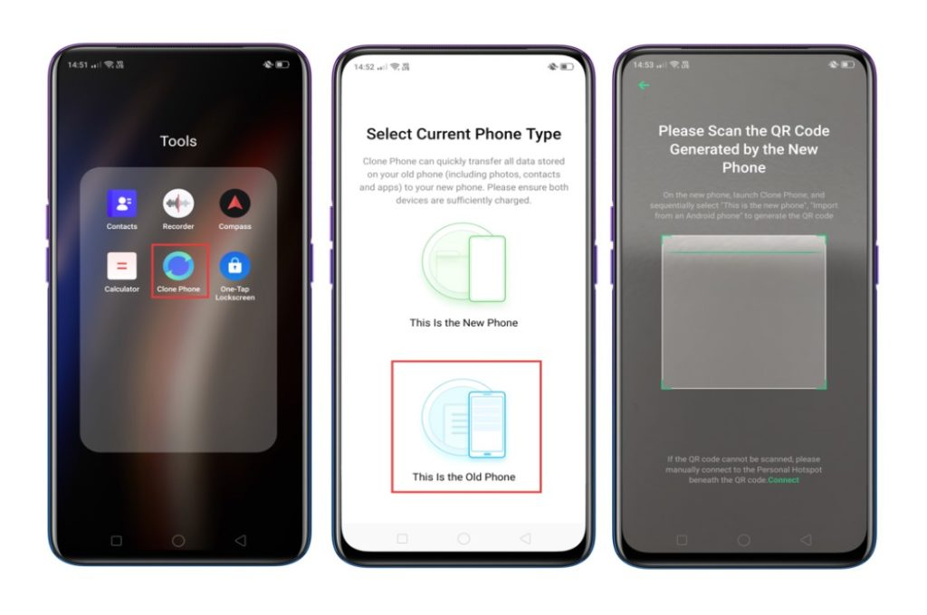 data-transfer-from-android-to-Realme-phone-via-clone-phone