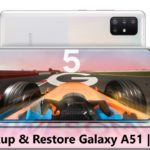 How To Backup And Restore Samsung Galaxy A51/A71