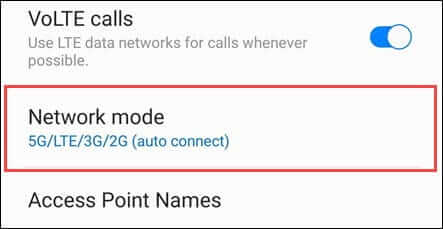 switch-to-4g-mode-from-5g-mode-in-samsung-galaxy