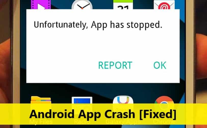 android-app-crash-fix