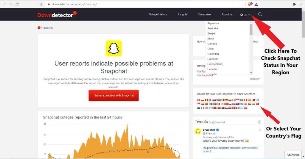 check-snapchat-status-down